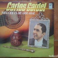 Discos de vinilo: CARLOS GARDEL - MELODIAS DE ARRABAL (LP) 1986. Lote 98730731
