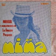 Discos de vinilo: MARISOL NIÑA LP HECHO EN PERU TRAE CANCIONES COMO EL GAVILAN , LA PEREGRINACION. Lote 98730799
