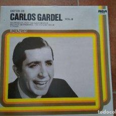 Discos de vinilo: CARLOS GARDEL - EXITOS VOL II (LP) 1979. Lote 98731131