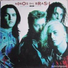 Discos de vinilo: NIÑOS DEL BRASIL: MENSAJES AL VIENTO. Lote 133402399