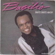 Dischi in vinile: BASILIO,TANTO TANTO AMOR DEL 84 PROMO DE 1 SOLA CARA. Lote 98744003