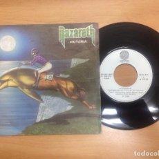 Discos de vinilo: SINGLE NAZARETH / VICTORIA / WE ARE THE PEOPLE. Lote 98747939