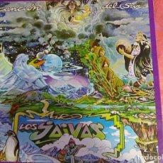 Discos de vinilo: JAIVAS, LOS - CANCIÓN DEL SUR (SONOPRESSE, AÑOS 70´S) -ED.FRANCESA DESPLEGABLE PSYCH ROCK URUGUAI. Lote 98762555