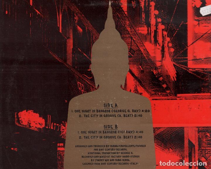Discos de vinilo: THE CORPORATION - ONE NIGHT IN BANGKOK / LP MAXISINGLE MAX MUSIC DE 1993 RF-3966 - Foto 2 - 98763515
