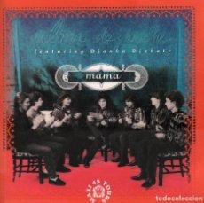 Discos de vinilo: ALMA DE NOCHE FEATURING DIANKA DIABATE ( MAMA / CATHEDRALE ) LP MAXISINGLE PHILIPS DE 1991 RF 3969. Lote 98764211