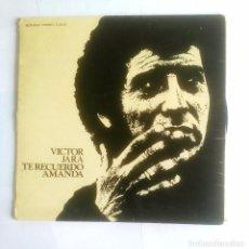 Discos de vinilo: VICTOR JARA - TE RECUERDO AMANDA. LP. TDKDA19. Lote 98767043