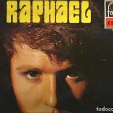 Discos de vinilo: LP RAPHAEL ( STEREO, EDITADO POR FONTANA EN 1969) CONTIENE 12 CANCIONES. Lote 98768471