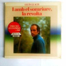 Discos de vinilo: LLUIS LLACH-. - I AMB EL SOMRIURE, LA REVOLTA. TDKLP. Lote 98768895