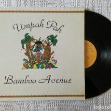 Discos de vinilo: UMPAH PAH, BAMBOO AVENUE (SALSETA) LP - GATEFOLD - LIBRETO. Lote 98769831