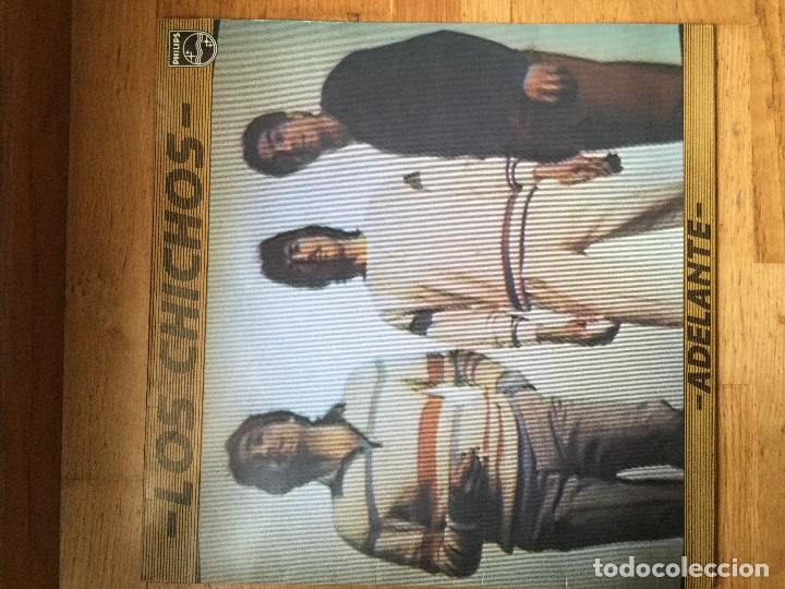 LOS CHICHOS ?– ADELANTE (Música - Discos - LP Vinilo - Grupos Españoles de los 70 y 80)
