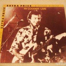Discos de vinilo: RY COODER ( LIVE ) 1982 - GERMANY LP33 WARNER BROS RECORDS. Lote 98779803