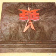 Discos de vinilo: MCAULEY SCHENKER GROUP ?– GIMME YOUR LOVE MAXI-45 GERMANY 1987 EMI. Lote 98783667