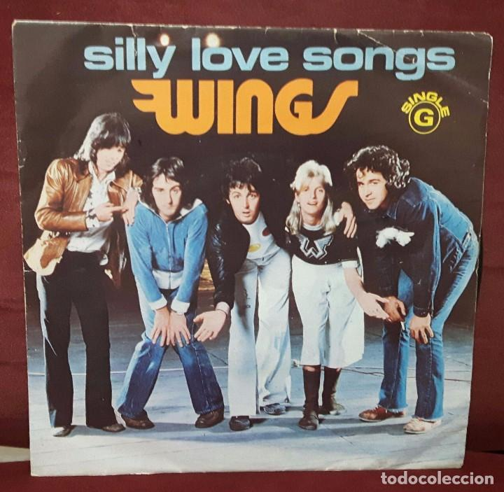 Image result for SILLY LOVE SONGS single images