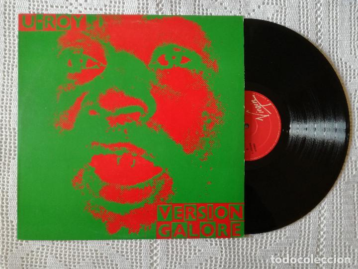 U-ROY, VERSION GALORE (VIRGIN) LP ESPAÑA (Música - Discos - LP Vinilo - Reggae - Ska)