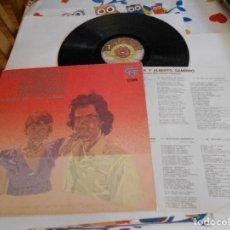 Discos de vinilo: LP DE CLAUDINA Y ALBERTO GAMBINO-CANCION DEL AMOR ARMADO-PORT.ABIERTA. Lote 98791931