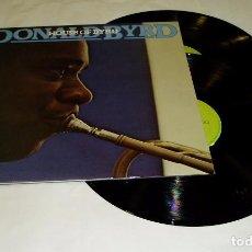 Discos de vinilo: DONALD BYRD - HOUSE OF BYRD LP DOBLE + DOBLE PORTADA 1981. Lote 98797119
