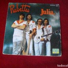 Discos de vinilo: RUBETTE JULIA 1976 SELLO STATE RECORDS. Lote 98801255