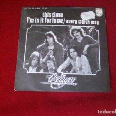 Discos de vinilo: PLAYER THIS TIME SELLO PHILIPS 1978. Lote 98801483
