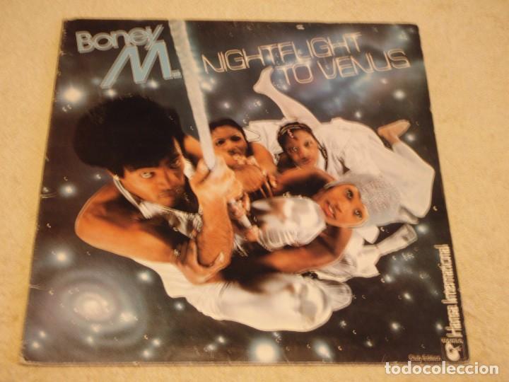 BONEY M. ( NIGHTFLIGHT TO VENUS ) 1978 - SWEDEN LP33 HANSA (Música - Discos - LP Vinilo - Disco y Dance)
