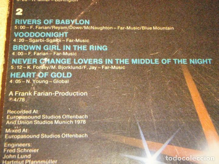 Discos de vinilo: BONEY M. ( NIGHTFLIGHT TO VENUS ) 1978 - SWEDEN LP33 HANSA - Foto 5 - 98801519