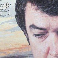 Discos de vinilo: ALBERTO CORTEZ COMO EL PRIMER DIA LP 1983 CON LETRAS. Lote 98809075