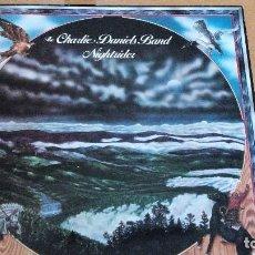 Discos de vinilo: THE CHARLIE DANIELS BAND NIGHTRIDER LP GATEFOLD 1975. Lote 98809139