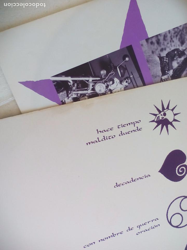 Discos de vinilo: HEROES DEL SILENCIO SENDA 91. VINILO DOBLE. 2 MAXISINGLES EMI 1991, 45 rpm - Foto 4 - 98811287