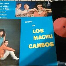 Discos de vinilo: BAILEMOS CON LOS MACHUCAMBOS LP.ESPAÑA 1965. Lote 98814496