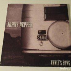 Discos de vinilo: JOHNY DEPPER - ANNIE'S SONG . Lote 98815235