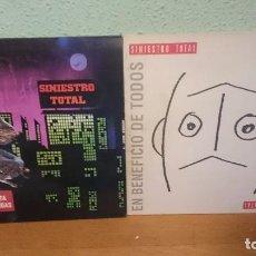 Discos de vinilo: SINIESTRO TOTAL..2 LOTES..VER FOTOS. Lote 98815391
