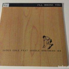 Discos de vinilo: JUNGLE BROTHERS - I'LL HOUSE YOU . Lote 98815819
