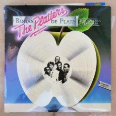 Discos de vinilo: LP THEPLATTERS BODA DE PLATA. Lote 98816226