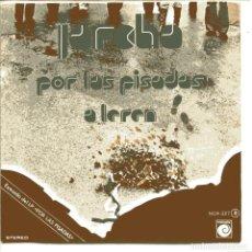 Disques de vinyle: JARCHA / POR LAS PISADAS / A LEREN (SINGLE PROMO 1978). Lote 98821947
