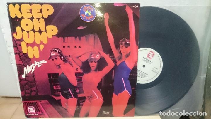 KEEP ON JUMP IN'..MUSIQUE,,1979 (Música - Discos de Vinilo - Maxi Singles - Disco y Dance)