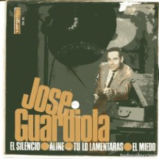 Discos de vinilo: JOSE GUARDIOLA / EL SILENCIO + 3 (EP 1966). Lote 98829763