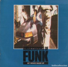 Discos de vinilo: AMBASSADORS OF FUNK - MY MINDS MADE UP / JUST A GROOVE / EERYBODY / LP MAXISINGLE GRIND DE 1989 . Lote 98839583
