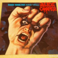 Discos de vinilo: ALICE COOPER ?– RAISE YOUR FIST AND YELL GERMANY 1987 MCA RECORDS. Lote 98848511