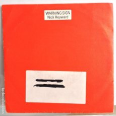 Discos de vinilo: NICK HEYWARD - WARNING SIGN / WARNING SIGN VERSION - NUEVO PROMO ESPAÑOL. Lote 98860515
