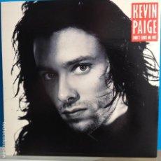 Discos de vinilo: KEVIN PAIGE - DON´T SHUT ME OUT / HYPNOTISE - NUEVO INGLES. Lote 98862827