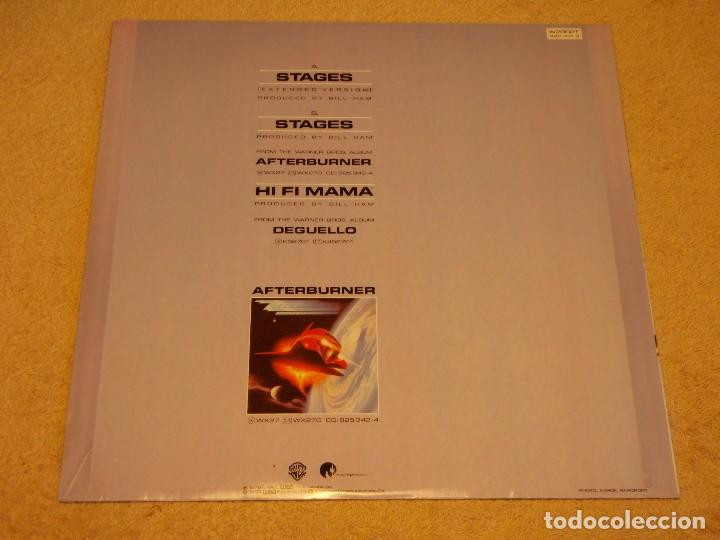 Discos de vinilo: ZZ TOP ( STAGES 2 VERSIONES - HI FI MAMA ) ENGLAND 1979/1985 MAXI45 WARNER BROS RECORDS - Foto 2 - 98864099