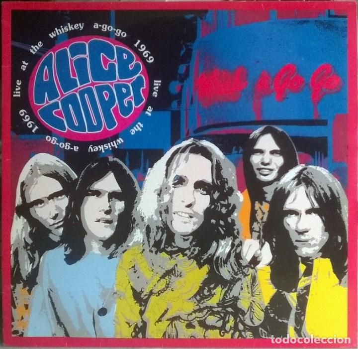 Alice Cooper Live At The Whisky A Go Go 1966 Comprar Discos Lp