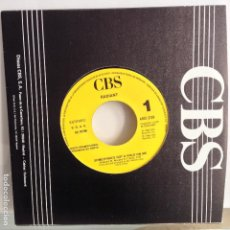 Discos de vinilo: RADIANT - SOMETHING´S GOT A HOLD ON ME / SIN GRABAR - NUEVO PROMO ESPAÑOL + NOTA PROMO. Lote 98865955