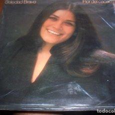 Discos de vinilo: LP DE SOLEDAD BRAVO. FLOR DEL CACAO. EDICION CBS DE 1979. PORTADA DOBLE. D.. Lote 98866227