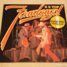 Discos de vinilo: ZZ TOP – FANDANGO! GERMANY 1980 WARNER BROS RECORDS. Lote 98870731