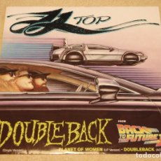 Discos de vinilo: ZZ TOP ( DOUBLEBACK 2 VERSIONES - PLANET OF WOMEN ) 1985/1990 - ENGLAND MAXI45 WARNER BROS. Lote 98871255