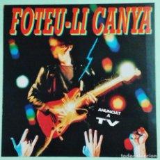 Discos de vinilo: LP - FOTEU-LI CANYA - POP ROCK CATALA - GRUPOS VARIOS - ED PICAP - 13 CANCIONES - AÑO 1991. Lote 98872011