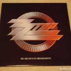 Discos de vinilo: ZZ TOP – MY HEAD'S IN MISSISSIPPI UK & EUROPE 1991 WARNER BROS RECORDS. Lote 98874955