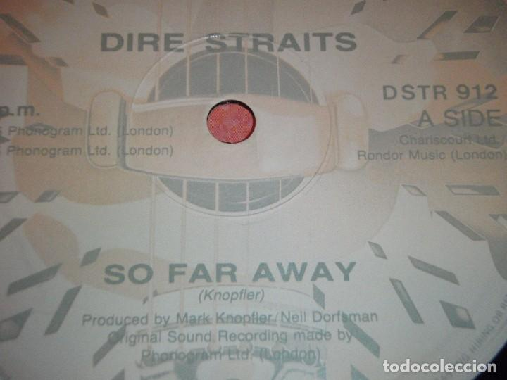 Discos de vinilo: Dire Straits ?– So Far Away UK 1985 Vertigo - Foto 3 - 98875955