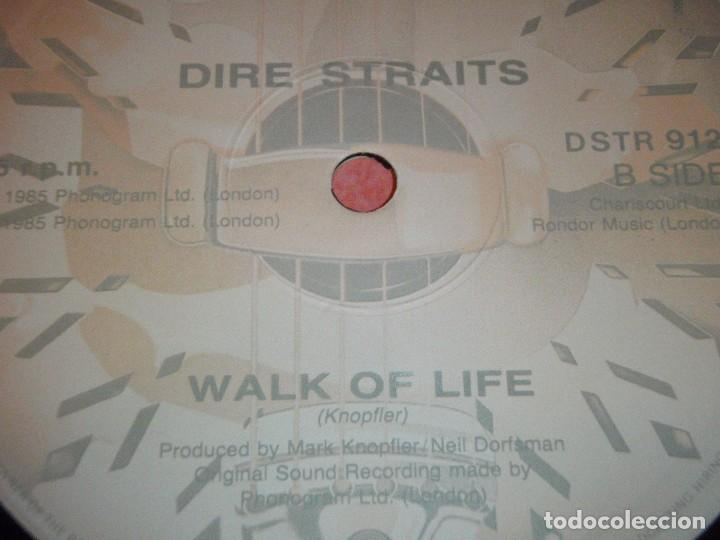 Discos de vinilo: Dire Straits ?– So Far Away UK 1985 Vertigo - Foto 4 - 98875955