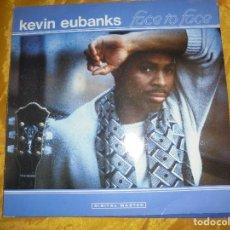 Discos de vinilo: KEVIN EUBANKS. FACE TO FACE. GRP, EDICION ALEMANA 1986. IMPECABLE. Lote 98878187